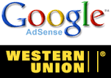 How to receive Google Adsense payments via Western Union