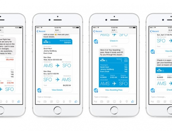 You Can Now Get Your Boarding Pass via Facebook Messenger
