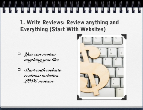 Make Money Blogging by Writing Reviews- Why writing reviews can be profitable