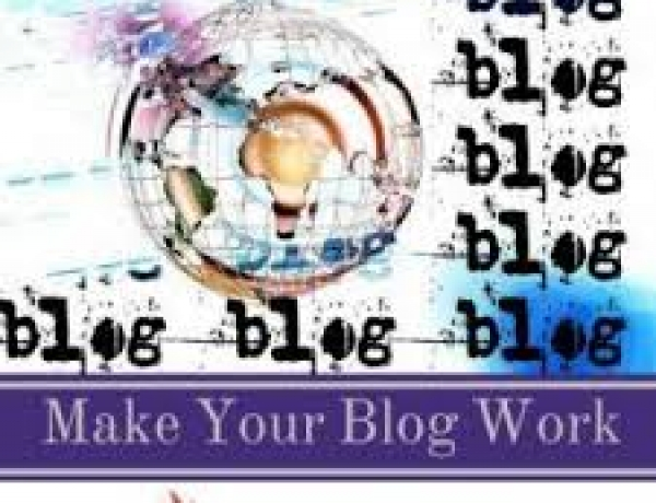 Making your blog work for you.