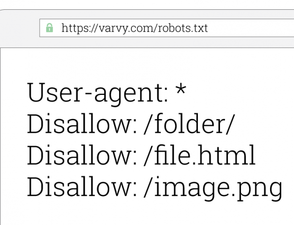 How to keep robots out of your web site