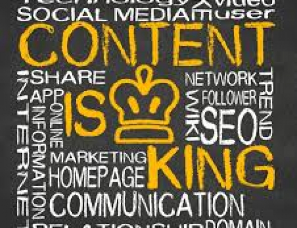 The Basics of Blogging and Web Site Creation – Part One: Content Is King)