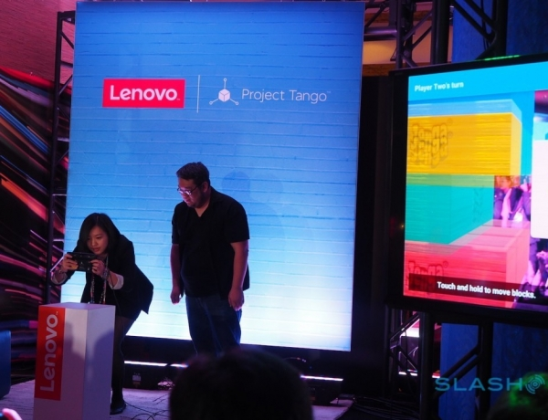 Google and Lenovo team up to bring Project Tango to consumers